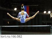 Купить «Гимнастка», фото № 66082, снято 13 июня 2004 г. (c) Морозова Татьяна / Фотобанк Лори