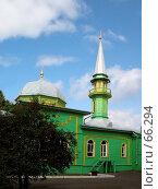 Купить «Первая соборная мечеть г. Чистополь», фото № 66294, снято 28 июля 2007 г. (c) Кучкаев Марат / Фотобанк Лори