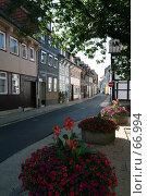 Купить «Германия. Эйнбек. Городской пейзаж», фото № 66994, снято 18 июля 2007 г. (c) Александр Секретарев / Фотобанк Лори