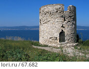 Нессебар. Башня (2005 год). Стоковое фото, фотограф Дмитрий Гришин / Фотобанк Лори