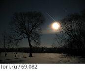 Полная луна. Стоковое фото, фотограф Кардашов Сергей Михайлович / Фотобанк Лори