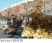 Купить «Торговая лодка. Родос (Греция)», фото № 69618, снято 30 июля 2007 г. (c) Екатерина Овсянникова / Фотобанк Лори