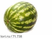 Купить «Арбуз», фото № 71738, снято 26 мая 2018 г. (c) Угоренков Александр / Фотобанк Лори