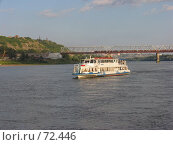 Купить «Речной трамвай на реке Белая, г. Уфа», фото № 72446, снято 14 августа 2007 г. (c) Талдыкин Юрий / Фотобанк Лори