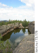 Купить «Казахстан. Каркаралинск. Озеро Бассейн», фото № 73178, снято 3 августа 2007 г. (c) Михаил Николаев / Фотобанк Лори