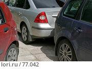 Три авто. Стоковое фото, фотограф Федюнин Александр / Фотобанк Лори