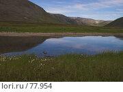Купить «Полярный Урал. Одно из многочисленных озер», фото № 77954, снято 2 августа 2007 г. (c) Роман Коротаев / Фотобанк Лори