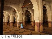 Тунис. Мечеть в Сусе. Внутреннее оформление. (2007 год). Стоковое фото, фотограф Олег Безручко / Фотобанк Лори