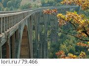 Купить «Черногорский мост Джурджевича Тара», фото № 79466, снято 28 августа 2007 г. (c) Fro / Фотобанк Лори