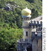 Купить «Дворец Пена, угловая башня», эксклюзивное фото № 81870, снято 29 июля 2007 г. (c) Михаил Карташов / Фотобанк Лори