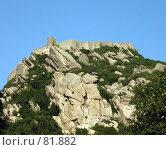 Купить «Крепость на вершине горы», эксклюзивное фото № 81882, снято 29 июля 2007 г. (c) Михаил Карташов / Фотобанк Лори