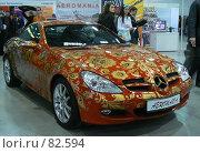 Купить «Мерседес SLK», эксклюзивное фото № 82594, снято 22 апреля 2007 г. (c) Журавлев Андрей / Фотобанк Лори