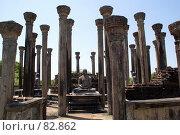 Купить «Будды и колонны», фото № 82862, снято 3 июня 2007 г. (c) Валерий Шанин / Фотобанк Лори