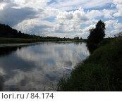 Купить «Река Мста», фото № 84174, снято 16 июля 2006 г. (c) Григорий Стоякин / Фотобанк Лори