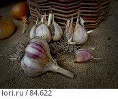 Купить «Чеснок россыпью», фото № 84622, снято 15 сентября 2007 г. (c) Таня Нотта / Фотобанк Лори