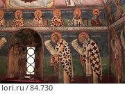 Купить «Фрески монастыря Морача (Черногория)», фото № 84730, снято 29 августа 2007 г. (c) Сергей Лебедев / Фотобанк Лори