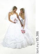 Купить «Невесты», фото № 85386, снято 8 сентября 2006 г. (c) Михаил Мандрыгин / Фотобанк Лори