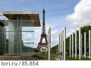 Купить «Париж. Марсово поле», эксклюзивное фото № 85854, снято 8 мая 2007 г. (c) Юлия Кузнецова / Фотобанк Лори