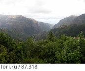 Купить «Ущелье», эксклюзивное фото № 87318, снято 8 августа 2007 г. (c) Михаил Карташов / Фотобанк Лори