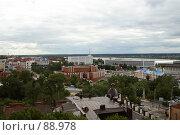 Купить «Центр Томска. Вид сверху», фото № 88978, снято 10 августа 2007 г. (c) Сергей Лебедев / Фотобанк Лори
