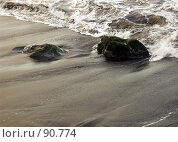 Купить «Прибой», эксклюзивное фото № 90774, снято 3 августа 2007 г. (c) Михаил Карташов / Фотобанк Лори