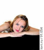 Купить «Мечтающая девушка», фото № 91054, снято 7 сентября 2007 г. (c) Валерия Потапова / Фотобанк Лори