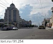 Купить «Город Чита, улица Ленина», фото № 91254, снято 8 июля 2007 г. (c) Геннадий Соловьев / Фотобанк Лори