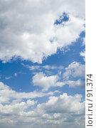 Купить «Облака», фото № 91374, снято 25 июня 2007 г. (c) Угоренков Александр / Фотобанк Лори