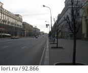 Купить «Минск, проспект», фото № 92866, снято 23 апреля 2007 г. (c) Алексей / Фотобанк Лори