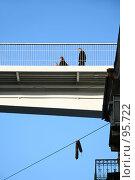 Купить «Тёщин мост», фото № 95722, снято 14 января 2007 г. (c) Alla Andersen / Фотобанк Лори