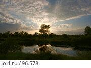 Купить «Закат», фото № 96578, снято 14 августа 2007 г. (c) Герман Молодцов / Фотобанк Лори