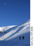 Купить «Горы», фото № 97606, снято 30 декабря 2006 г. (c) Чеботарев Григорий Владимирович / Фотобанк Лори