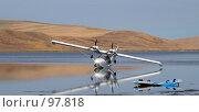 Купить «Самолет», фото № 97818, снято 31 августа 2007 г. (c) Чеботарев Григорий Владимирович / Фотобанк Лори