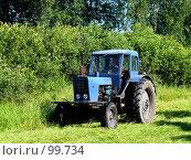 Купить «Сенокос», фото № 99734, снято 25 июля 2007 г. (c) Шаврин Виктор Михайлович / Фотобанк Лори