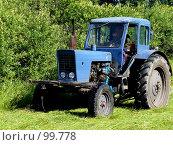 Купить «Сенокос», фото № 99778, снято 25 июля 2007 г. (c) Шаврин Виктор Михайлович / Фотобанк Лори