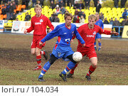Купить «Футбол», фото № 104034, снято 14 августа 2018 г. (c) Борис Ганцелевич / Фотобанк Лори