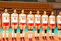 Женская сборная Китая по волейболу, фото № 104110, снято 27 июля 2017 г. (c) Сергей Лебедев / Фотобанк Лори