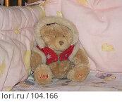 Купить «Мягкая игрушка - мишка», фото № 104166, снято 23 января 2019 г. (c) Огульчанский Александер / Фотобанк Лори