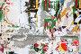 Бетонная Стена с Обрывками Плакатов, Concrete Wall with Scrap of the Posters, фото № 104978, снято 27 июня 2017 г. (c) Astroid / Фотобанк Лори