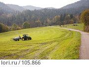 Купить «Бавария. Процесс удобрения альпийских лужаек экологически чистым продуктом.», фото № 105866, снято 21 октября 2005 г. (c) Павел Гаврилов / Фотобанк Лори