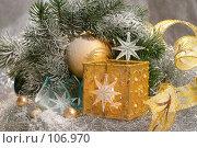 Купить «Новый год», фото № 106970, снято 7 мая 2005 г. (c) Николай Туркин / Фотобанк Лори