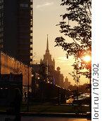 Купить «Арбат», фото № 107302, снято 14 сентября 2003 г. (c) Юрий Назаров / Фотобанк Лори