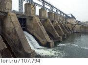 Купить «Гидроэлектростанция. Hydroelectric pumped storage power plant», фото № 107794, снято 28 октября 2007 г. (c) Сергей Старуш / Фотобанк Лори