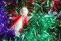Новогодние украшения, разноцветная мишура и игрушка, фото № 107870, снято 27 октября 2007 г. (c) Parmenov Pavel / Фотобанк Лори