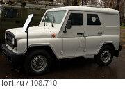 Купить «Спец автомобиль УАЗ-31519», эксклюзивное фото № 108710, снято 2 ноября 2007 г. (c) Журавлев Андрей / Фотобанк Лори