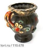 Купить «Старая ваза», фото № 110678, снято 3 ноября 2007 г. (c) Анатолий Теребенин / Фотобанк Лори