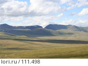 Купить «Тува: перевал Бугузун, Убсунурская котловина», фото № 111498, снято 26 июля 2006 г. (c) Александр Гершензон / Фотобанк Лори