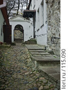 Купить «Улица старого Таллина», фото № 115090, снято 25 мая 2018 г. (c) Игорь Соколов / Фотобанк Лори