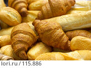 Купить «Свежий хлеб в пекарне», фото № 115886, снято 5 октября 2007 г. (c) Владимир / Фотобанк Лори