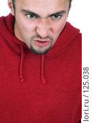 Купить «Сердитый мужчина», фото № 125038, снято 12 октября 2007 г. (c) hunta / Фотобанк Лори